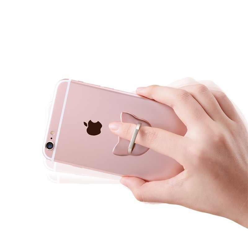 ユニバーサル指リング携帯電話スマートスタンドホルダーマウント Iphone アプリ Xiaomi Huawei 社サムスンすべてのスマートフォン