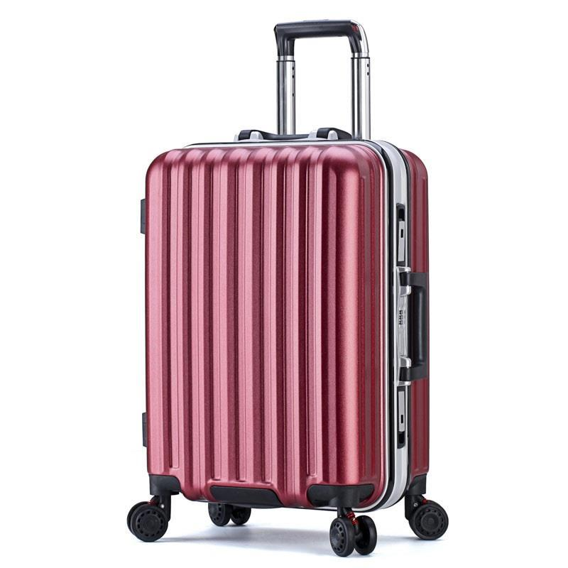 202224inch Aluminum alloy frame business trip wheels maletas de viaje con ruedas envio gratis koffer suitcase rolling luggage mooncase s line soft flexible silicone gel tpu skin shell back чехол для htc one m9 blue