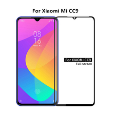 1PCS For Xiaomi Mi CC9 Glass 2.5D Full Glue Coverage Screen Protector Protective Film for