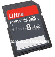8GB 30M/S Ultra Speed SD Card For Raspberry Pi Model B Free shipping