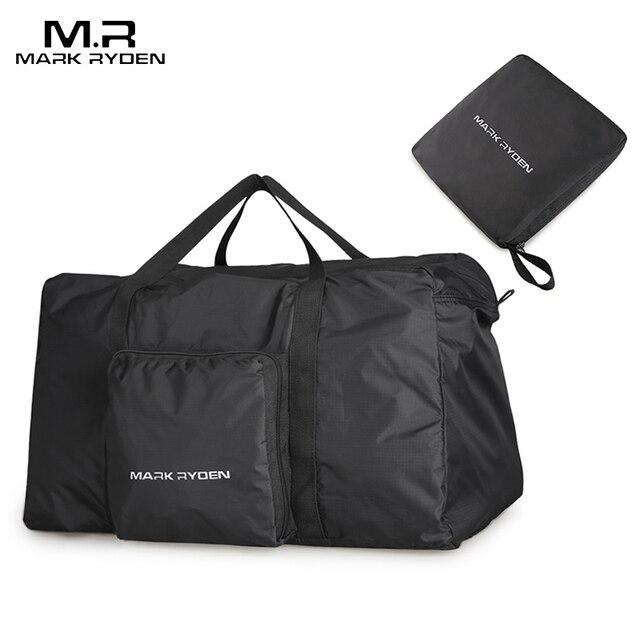 Mark Ryden Fashion WaterProof Travel Bag Large Capacity Bag Men Nylon Folding Bag Unisex Luggage Travel Handbags