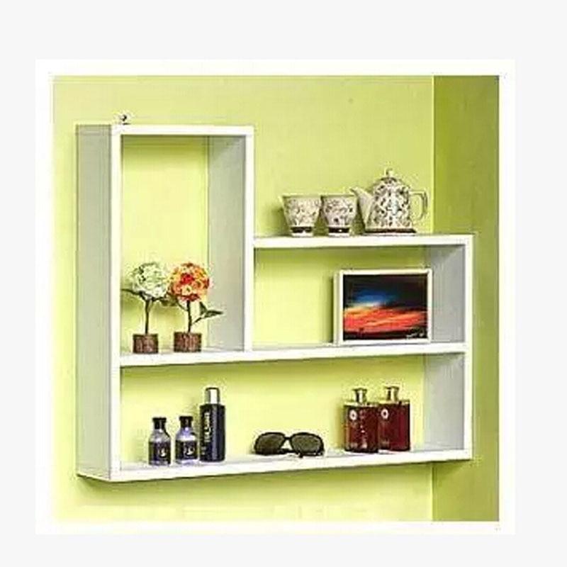 Modern minimalist TV wall shelf decorative wall shelf word shelf ...