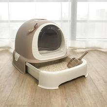 Кошачий песочный горшок полностью закрытый очень большой кошачий Туалет кошачий навоз горшок анти-всплеск кошачий песочный горшок дезодорирующий и вонючий товары для кошек