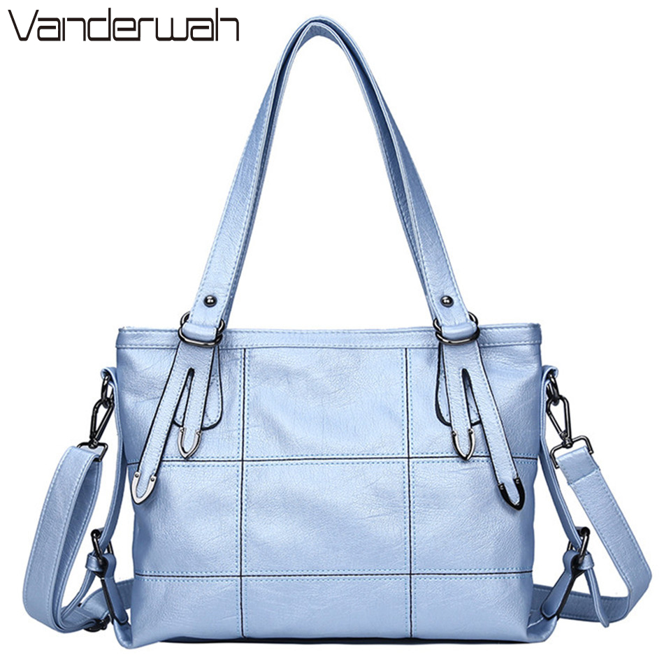 HOT Lady Top-handle bags leather luxury handbags women bags designer Stitching casual Women messenger Big shoulder bag Tote SAC leyden high quality stainless steel towel rack bathroom polished chrome towel bar wall mounted towel holder bathroom accessories