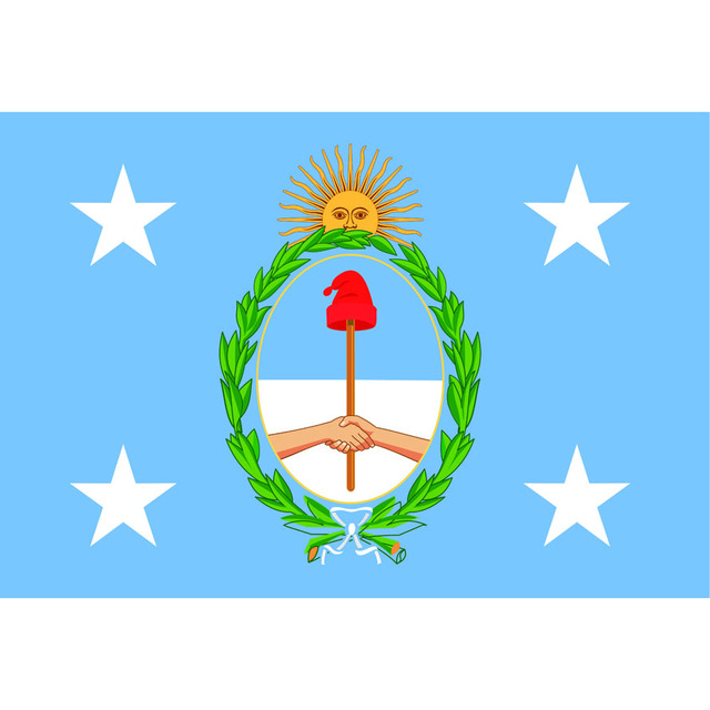 The National Symbols Of Argentina 3 X 5ft96 X 144cm100d Polyester