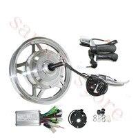 12 inch 250 W 24 V חשמלי מנוע רכזת גלגל אחורי  ערכת אופניים חשמלי המרה  קטנוע מנוע חשמלי