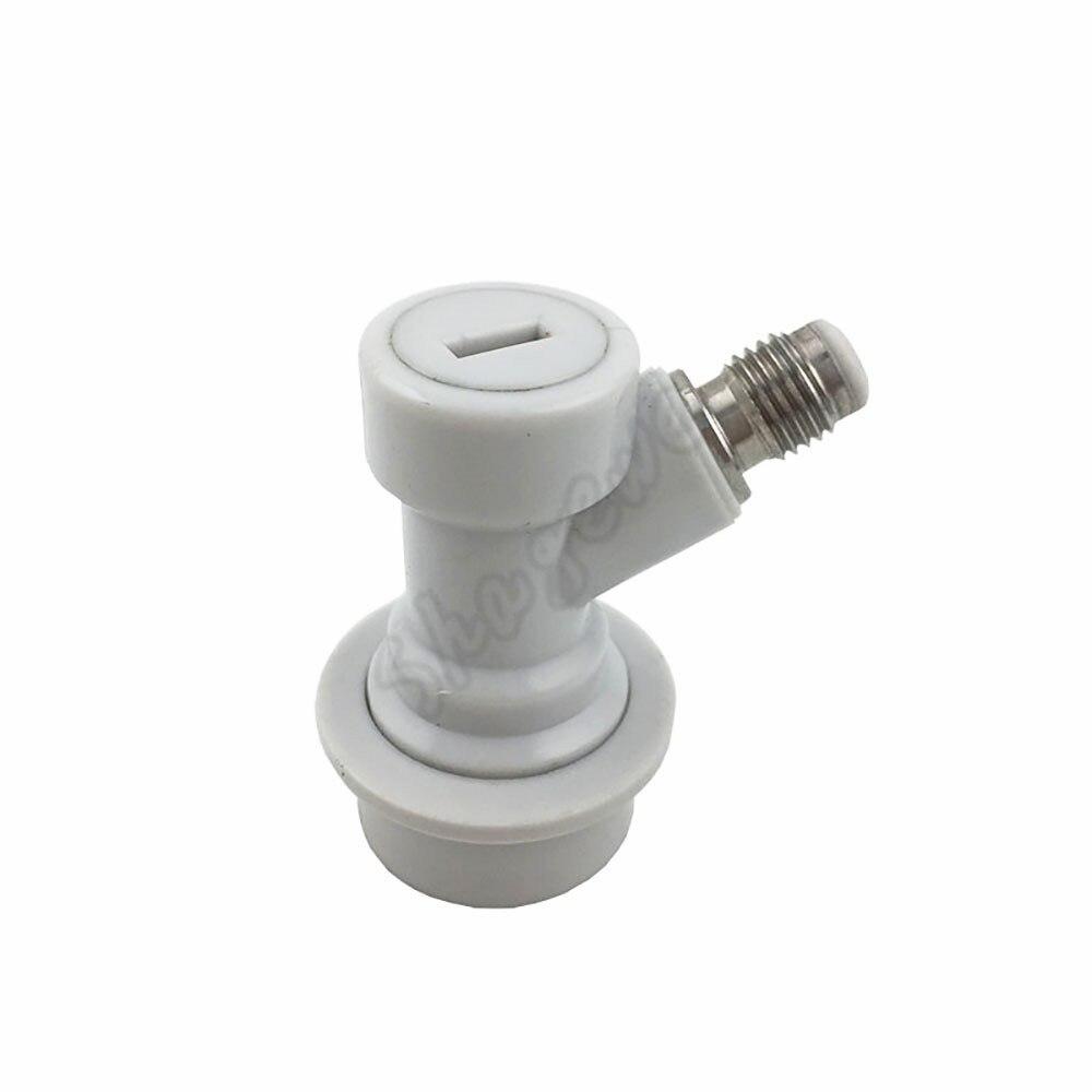 Homebrew Beer Keg Plastic Ball Lock Connector Liquid Gas 14 Barb Ball Lock Disconnect  (3)