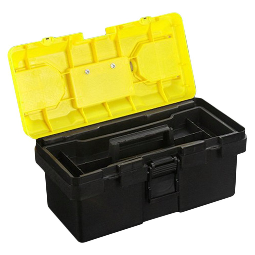 Thickened Portable Tool Organizer Solid ABS Storage font b Box b font Household Durable Survival Case