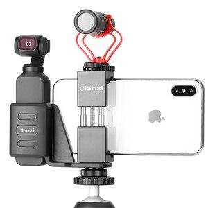 Image 3 - Ulanzi OP 1 suporte de fixação para osmo bolso com telefone multi purpose montagem para tripé de vídeo microfone luz cardan accessaries