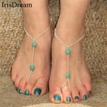 New Hot Bohemian Bijoux Anklet Foot Ankle Bracelet Chain Anklets For Women Beach Barefoot Sandals Foot Jewelry Sexy Statement