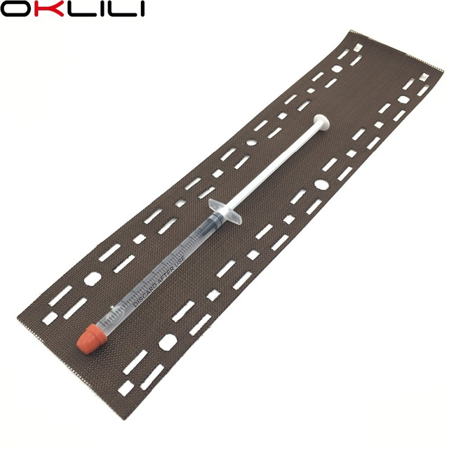 1SET X Fuser Heat Cloth Fabric Oil Application Pad W/O Holder for Kyocera P2040 P2235 P2335 M2040 M2135 M2235 M2540 M2635 M2640