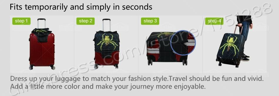 elastic luggage