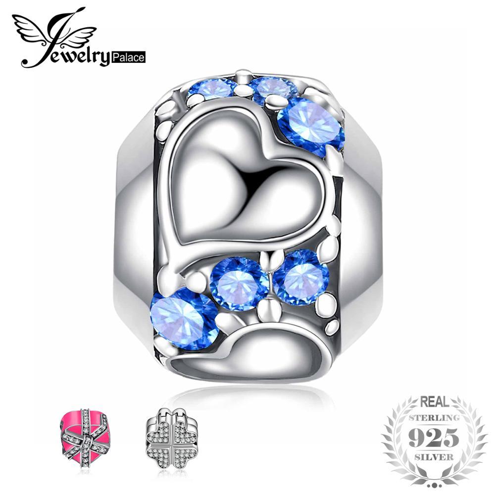 Jewelrypalace 925 Sterling Silber Perle Blume Weiß Murano Glas Perle Charme Fit Armbänder Für Frauen Beste Geschenke Neue Heißer Verkauf Edler Schmuck