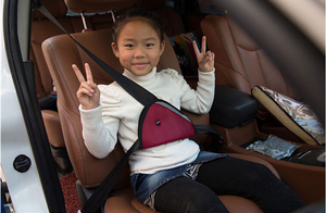 Image 4 - CheMeiMei Car Safe Fit Seat Belt Adjuster Car Safety Belt Adjust Device Baby Child Protector Covers Positioner Drop shipping