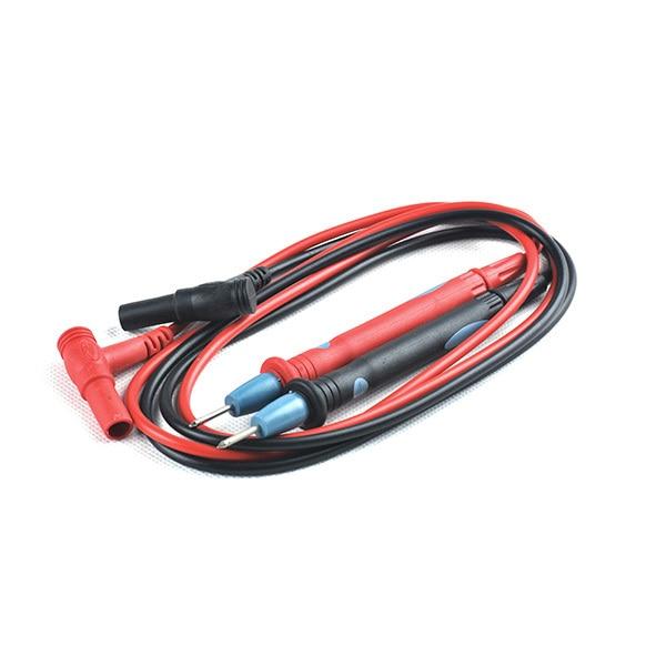 Multimeter Test Lead Set Cable Pen Wire Digital 2pcs Probes Silicone 90cm UK