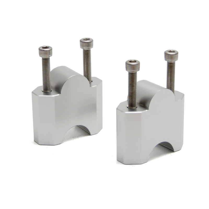 """Image 5 - KEMiMOTO 1 pair 2 Inch Handlebar Mount Clamp High Lifter Riser for INTRUDER M1800R 2"""" Silver For Suzuki Boulevard M109R-in Handlebar from Automobiles & Motorcycles"""
