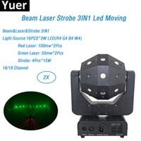 16X3W Moving Head Ball Light Laser Strobe Beam 3IN1 Football/Roller Moving Head DMX Infinite Rotation LED Disco DJ ball light
