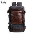 2016 New Fashion Large Capacity Rucksack Men's Canvas Backpack MULTIFUNCTION Leisure Travel Men's Laptop Backpacks bag