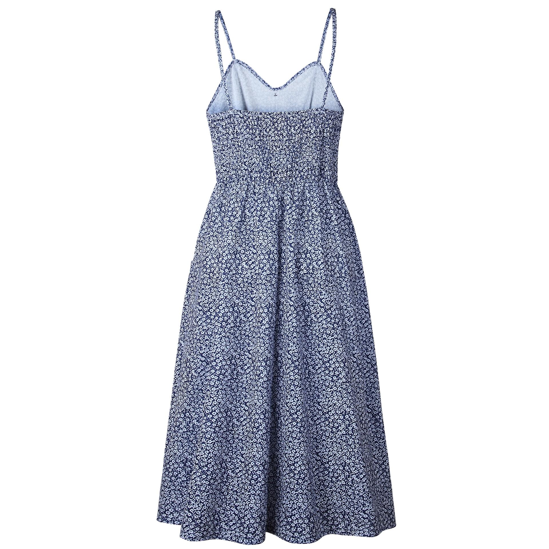 New Boho Off-shoulder Party Beach Sundress Spaghetti Long Dresses Plus Size Summer Women Button Decorated Print Dress CRRIFLZ 19