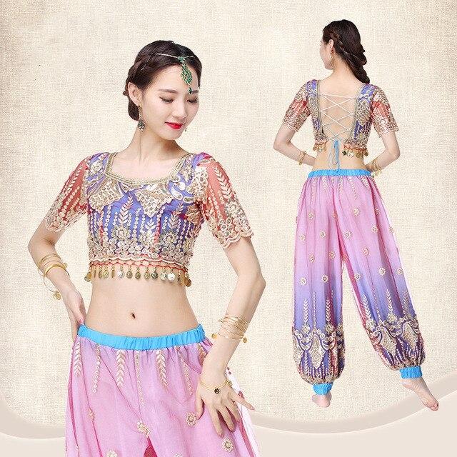 Belly Dancer Bollywood Arabian Princess Ladies Fancy Dress Costume