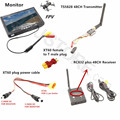 RC Sistema Combo FPV 5.8 Ghz 5.8g 600 mw ts5828 Mini Transmisor Receptor RC832 Plus Monitor para SJ4000 F450 QAV250 Racing drone