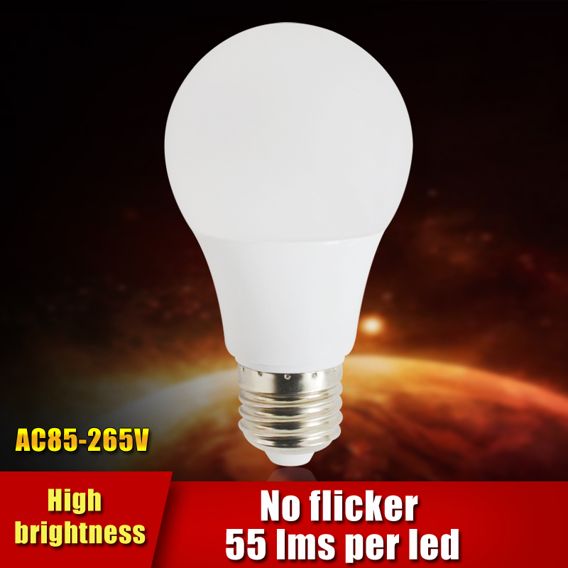 New Led Lamp E27 3w 5w 7w 9w 12w 220v 110v Led Bulb Light Smd2835 Fast Heat Dissipation High