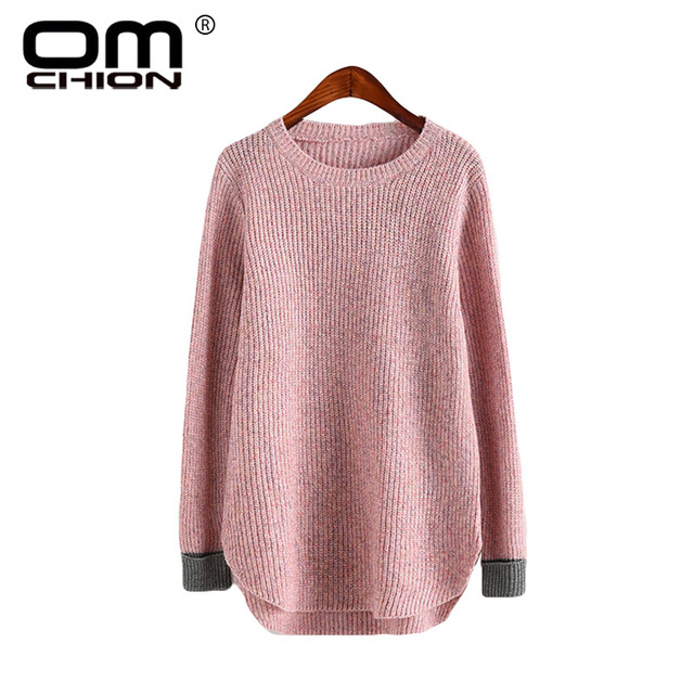 LuiseSandyHan 2018 Women s Coarse Wool Sweater Warm Spring Autumn Winter  Sleeved. Add Cart.  13.12. OMCHION Sueter Mujer 2018 O Neck ... 597972a08