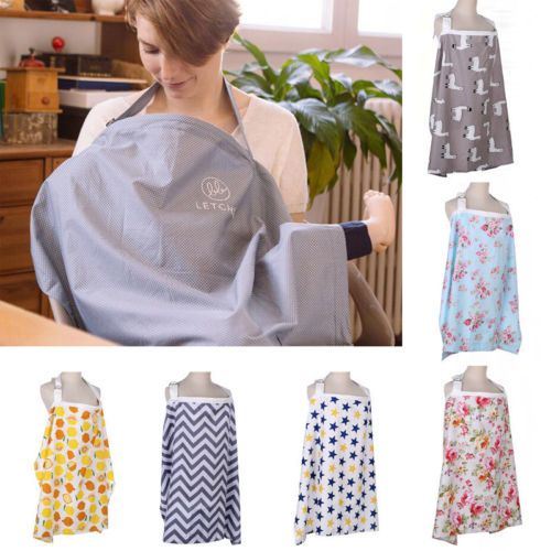 Shawl Apron Poncho Cover-Up Breastfeeding-Cover Baby Nursing New Pudcoco Mom Cotton