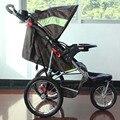 Semaco Dobrar Triciclo Carrinho De Corredor, 16 Polegada Rodas Ar Com Forte Suspensão Carrinho De Bebê, 3 Cores Disponíveis para