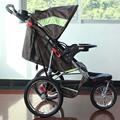 Semaco Fold Tricycle Jogger Stroller,16 Inch Air Wheel With Stronger Suspension Pram,3 Color for Available