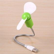 BinFul Safe Low Power Energy Saving Flexible Mini USB Cooling Fan for Notebook Laptop Computer USB Gadgets Fan