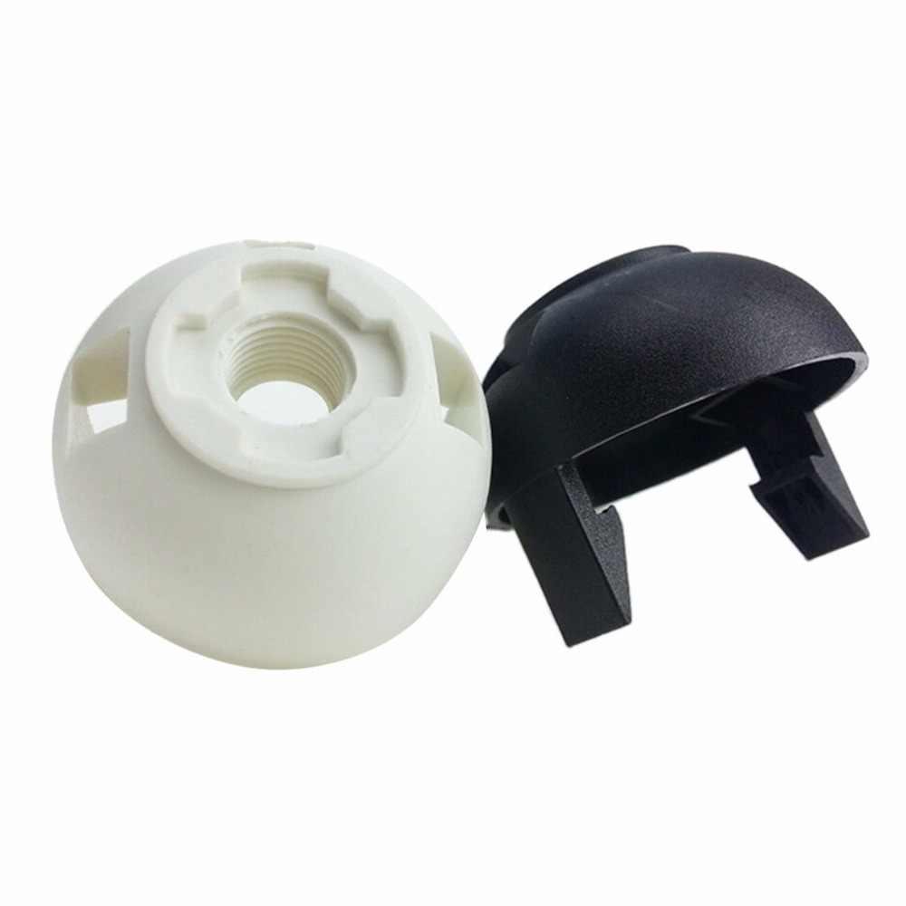 1 قطعة عالية الجودة 250 فولت 4A E27 ضوء لمبة قاعدة البلاستيك الكامل برغي حامل مصباح قلادة المقبس عاكس الضوء الدائري ل E27 ضوء لمبة