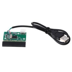 Image 2 - Adaptador de interface, cabo usb para 34pin conversor placa driver u disco para placa pcb floppy disco