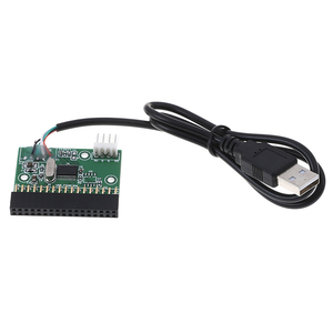 Image 2 - USB Cable to 34pin Floppy Interface Adapter PCB Converter Board driver board U disk to floppy disk PCB Board