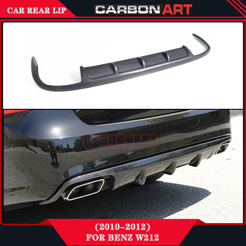 Replacement auto body parts carbon fiber rear bumper air for Mercedes benz 2014 e350 parts