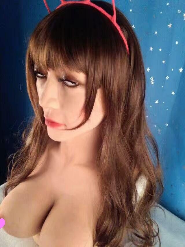 Latex female masks realistic