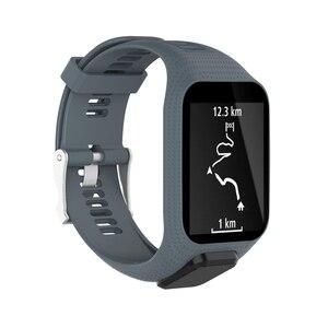 Image 5 - XBERSTARสายรัดข้อมือสำหรับTomTom Runner 2 3สายนาฬิกาสำหรับTomTom Sparkนักกอล์ฟAdventurer Spark 3 GPS Watch TPE
