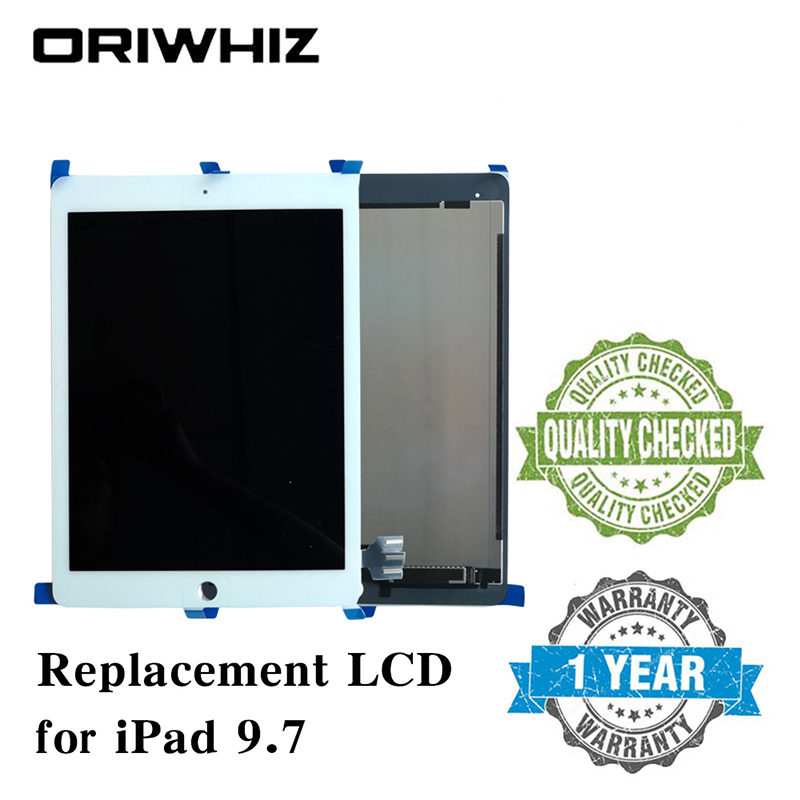Oriwhiz Screen Replacement For ipad Pro 9.7High quality LCD display+Touch screen assembly without Homebutton and Glue fast arrival pm9800 new brand acvoltage current power factor