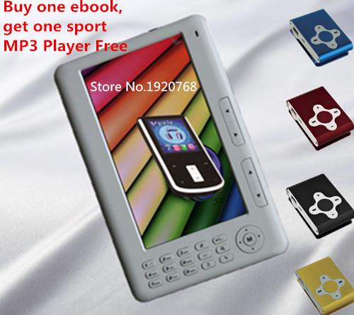 Prix pour Qinkar 7 pouces écran ebook reader 8 GB + Cadeau Gratuit sport lecteur de musique, PDF e livre MP5 lecteur vidéo D'enregistrement Calendrier ereader