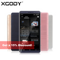 Xgody mt6580 y14 6 pulgadas 3g smartphone quad core 512 mb de ram 8 GB ROM Android 5.1 Teléfono Celular Móvil Dual SIM 5.0MP GPS WiFi