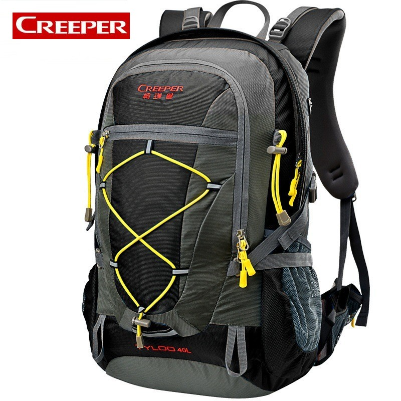 Bike Cycling 40L Capacity Thin Unisex Backpack Outdoor Sports Bag Waterproof Camping Fishing Ruchsack For Tourist Trekking brand creeper 30l professional cycling backpack waterproof cycling bag for bike travel bag hike camping bag backpack rucksacks