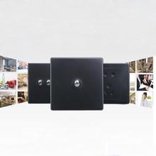 цена на 4Pcs a Pack Black Open A Single Control Switch Bedside Switch 86 Type