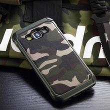 New Army Camo Camouflage Pattern back cover Hard Plastic TPU Armor Anti-knock protective case For Samsung Galaxy A5 A500 2015 x pattern protective tpu back case for samsung galaxy note ii n7100 white
