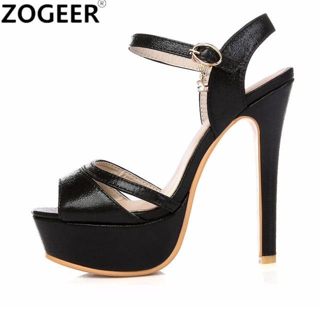 763c35b76de Big Size 48 Summer Fashion Women Sandals Sexy High Heel Gladiator Sandal  Platform Gold Silver Luxury Party Wedding Shoes Woman