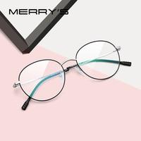 ff5c872c0 MERRY S Women Fashion Oval Glasses Frame Ladies Eyewear Myopia Prescription  Optical Eye Glasses S2044. MERRY'S Mulheres Moda Óculos de Armação ...