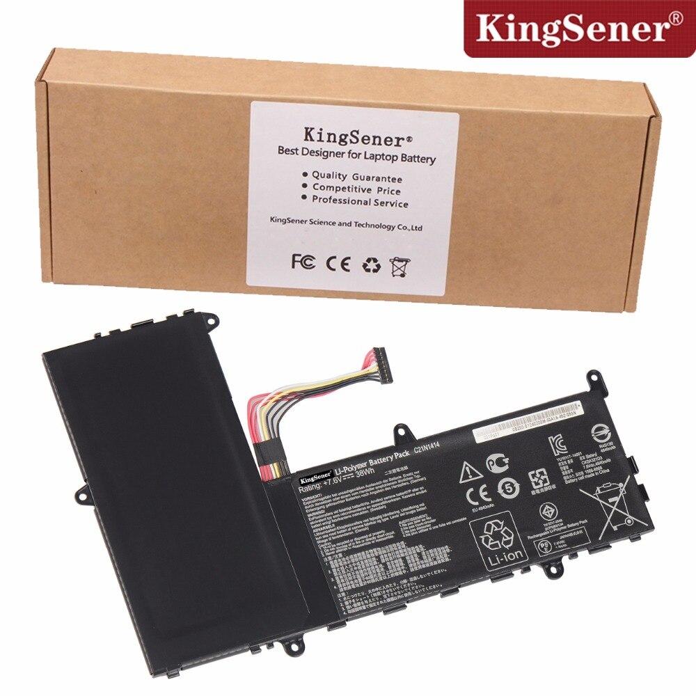 KingSener New C21N1414 Laptop Battery For ASUS EeeBook X205T X205TA Series C21N1414 7.6V 38WH Free 2 Years Warranty цены онлайн