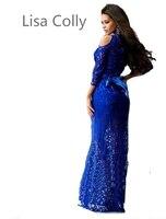 2016 Maxi Dress Long LACE Dress Sexy O Neck Wrap Around Design Robe Longue Femme 3