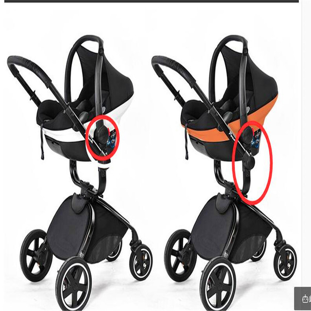 Pouch Stroller Car Seat Adapters Carry Cot Basket Baby Accessories