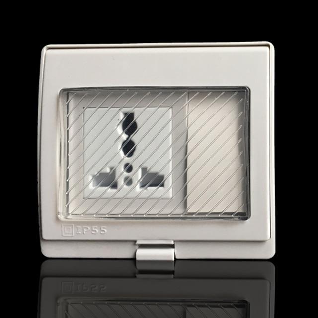 Ip55 Report Ce Wall Waterproof Power Socket Universal Electrical