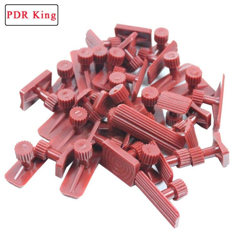 18 stücke kleber tabs dent lifter werkzeuge Dent Removal Repair Tool Paintless Kits Kleber Puller Sets Tabs PDR werkzeuge Super pdr kleber tabs
